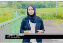 Tasnim-Nazeer-Penyiar-Berita-Berhijab-Scotlandia